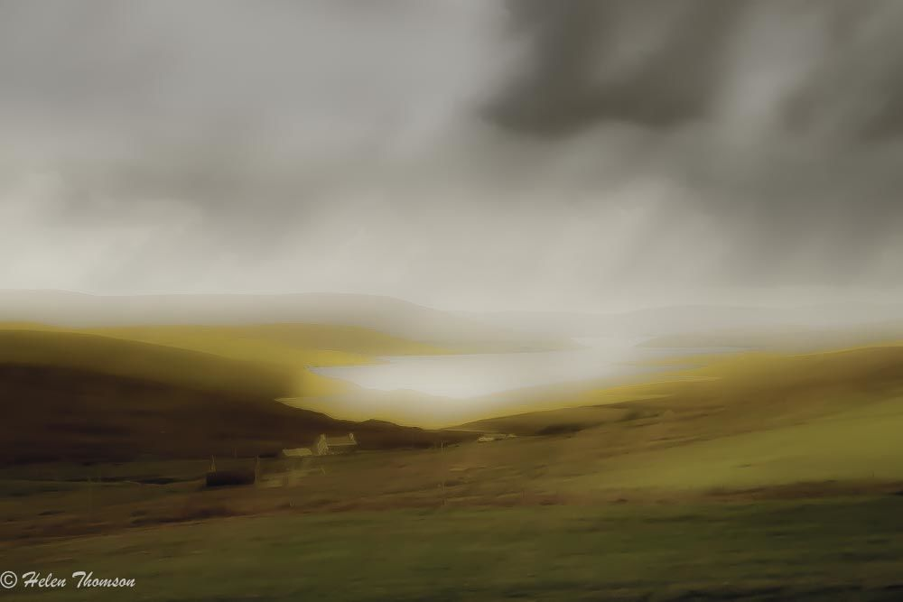 08601 'Drama in Gold' - Shetland Isles