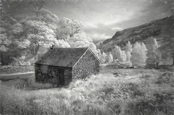 Hut at Ashness Bridge