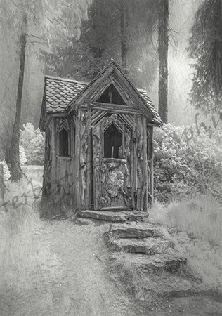 Hut in the Wood