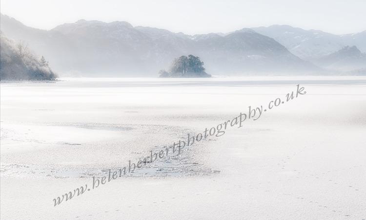 Ice & Mist on Lake