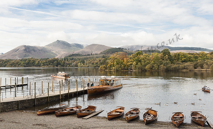 Landing Stage at Derwentwater