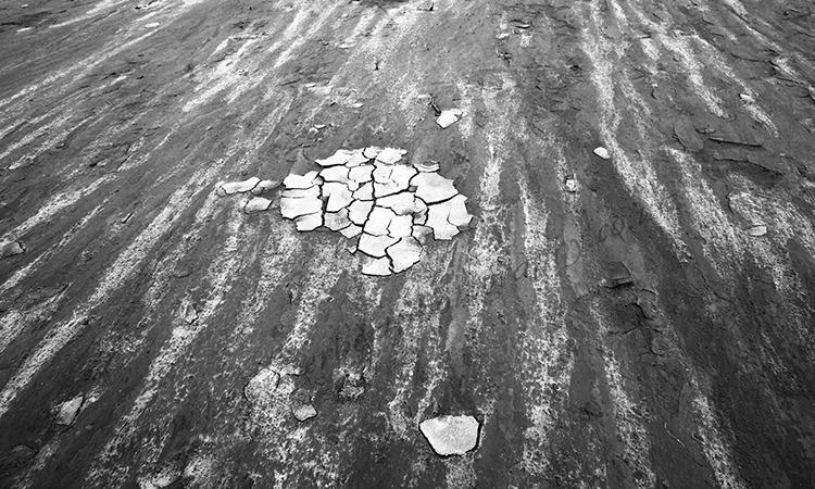 Mud on Beach