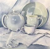 """Still Life in White"""