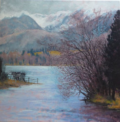 'Ullswater from the River'