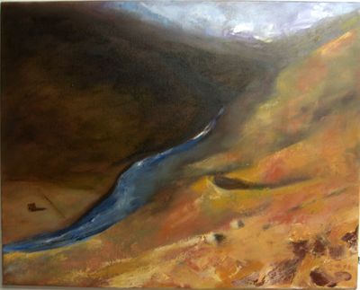 152_River_Swale_near_Swinner_Gill_20x16in_Oil