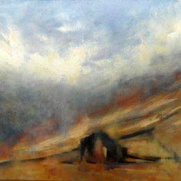158-Mist Rising Swaledale 20x16in oil