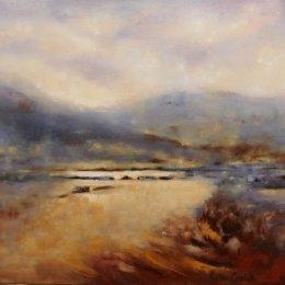 164-Apersett Pasture Wensleydale 20x16in oil
