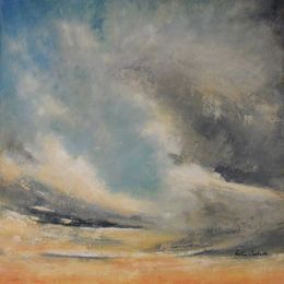 435_Sand_and_Sky_24x24in_Oil