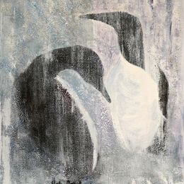 451_Guillemots_pair_16x12in_Acrylic