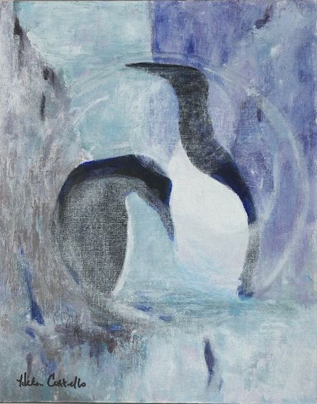 454_Guillemots_spiral_10x10in_Acrylic
