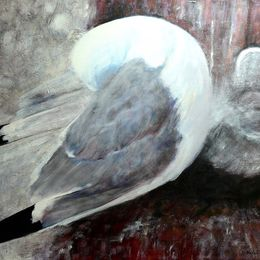 483_Kittiwake_and_chick_30x24in_Acrylic