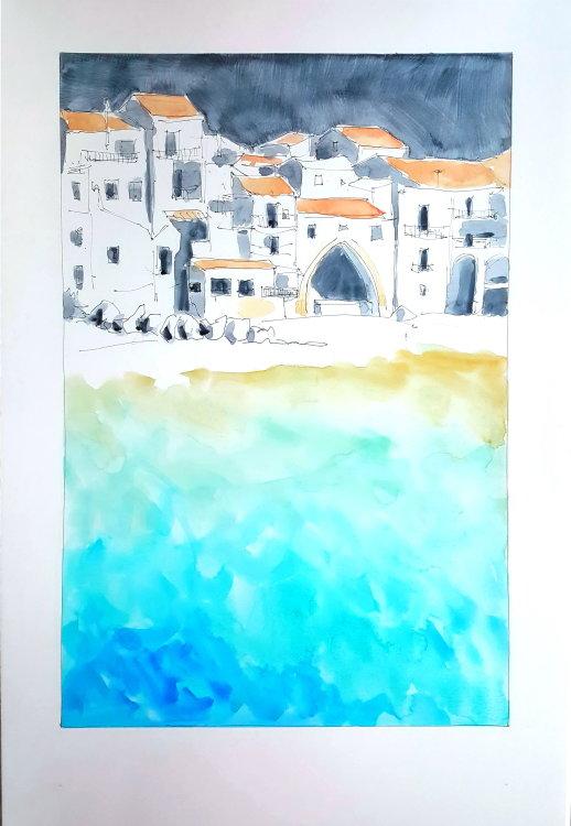 landscape of Sicily