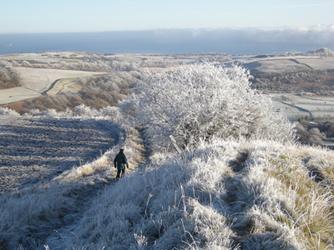 Walking the Binn in Winter