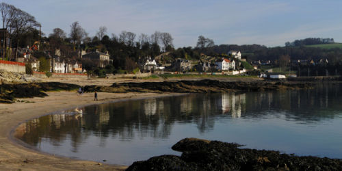 Aberdour Bay from Rocks