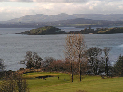 South to Inchcolm Island