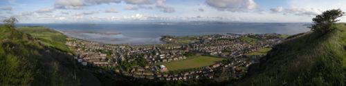 Panorama over Burntisland