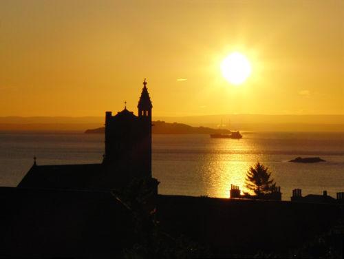 Erskine  Church at Dawn