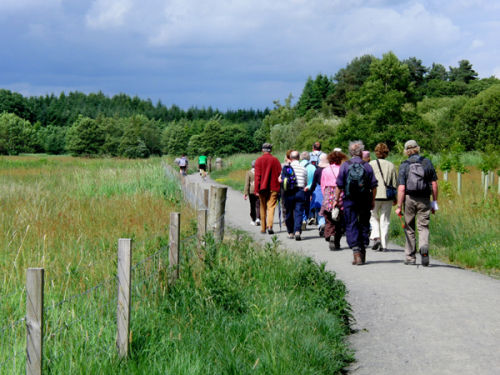 On the Loch Leven Heritage Trail