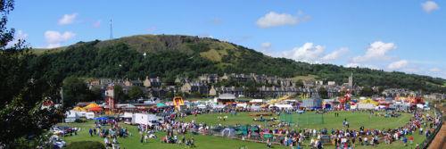 Burntisland Links on Games Day