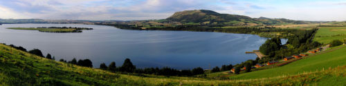 The View  Over Loch Leven Lodges