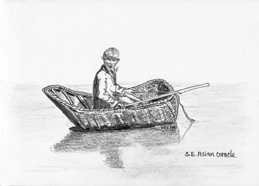 19th Cent. Coracle