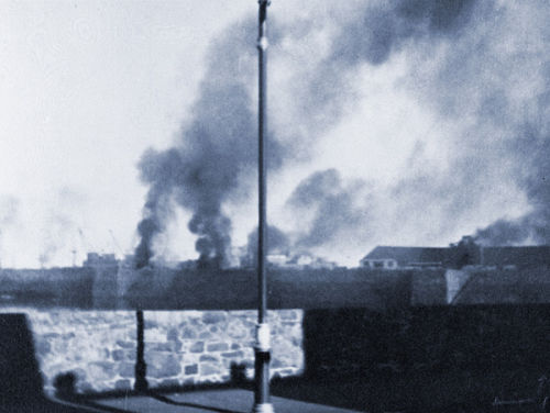 The Bombing of the White Rock