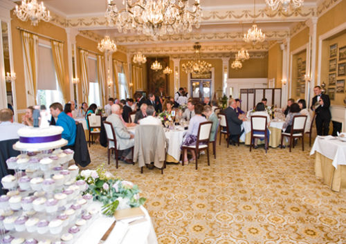 The Reception in the OGH Dining room.
