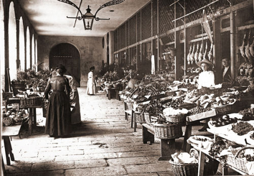 The French Halls Vegetable Market
