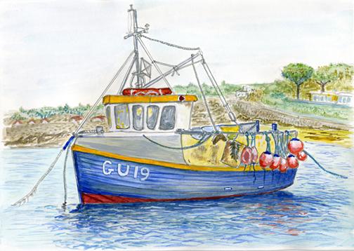 GU 19 Portelet Bay.