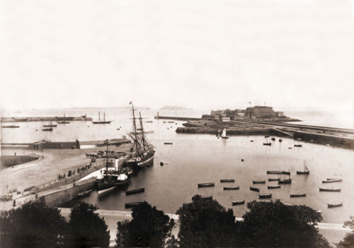 The Harbour from the Strand.