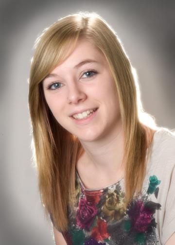 A Portrait of Amy Mahon.