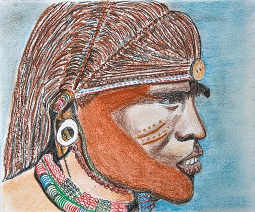 Masai Warrior.