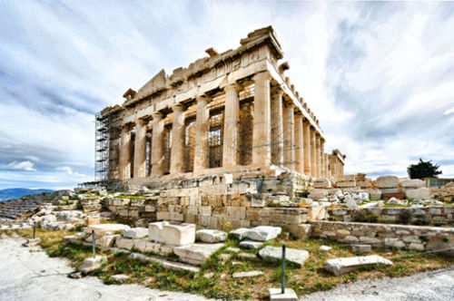 The Parthenon Athens