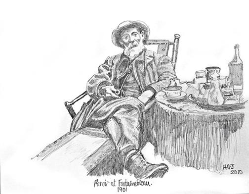 Renoir at Fontainbleau