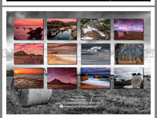 2018 Landscape Calendar - Back Cover