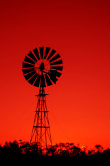 MH0053 Windmill Sunset RS