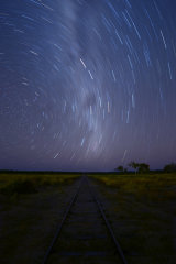 MH0082 Savannahlander Railway Star Trails RS
