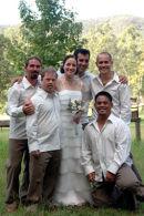 groomsmen and bride 1