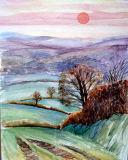 Quarme Lane Evening Sun