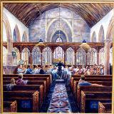 Rehearsing Elgar in Dunster Church