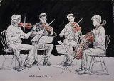 Quartet Rehearsing