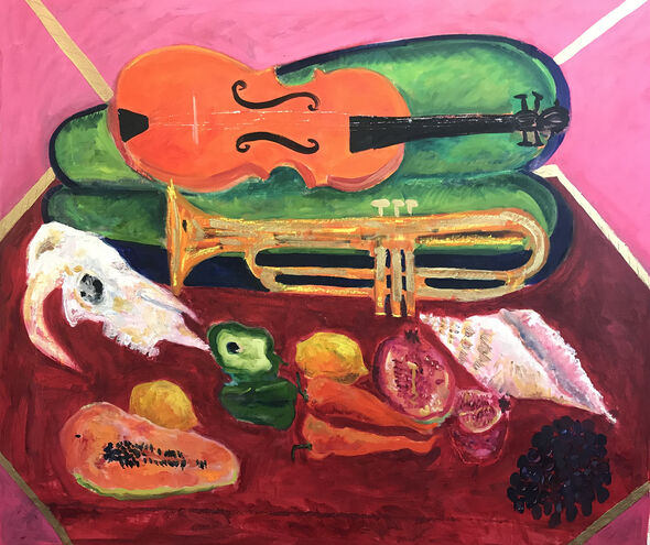Violin and Trumpet Oil 2021