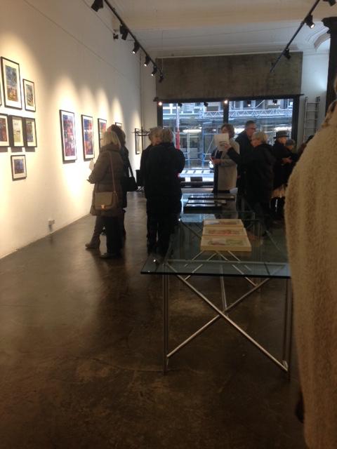 Exhibition at Galerie Hilde Leiss, Hamburg