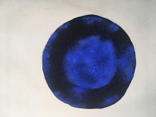 Watercolour of Ectoderm Germ cell