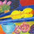 Sold;Yellow violin