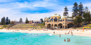 A Sunny Day at Cottesloe Beach 2 Landscape Photography Print