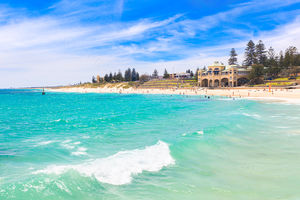A Sunny Day at Cottesloe Beach 3 Landscape Photography Print