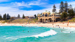 A Sunny Day at Cottesloe Beach Landscape Photography Print