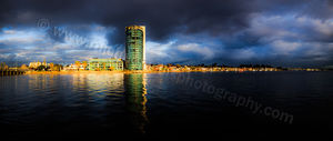 Applecross Foreshore and the Canning River at Sunrise Landscape Photography Print