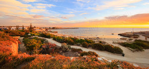Bathers Beach Sunset, Fremantle Landscape Photography Print